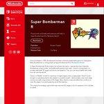 Super Bomberman R for Nintendo Switch $65 on Nintendo eShop