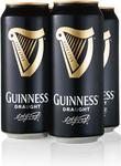 Guinness Draught 4 x 440ml  @ $9.99 at ALDI