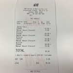 H&M 70% off (Tees $5 Shorts $10, Shirts $10-15) Sydney CBD- Glass house