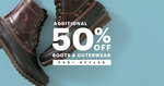 Jack Threads 50% off Boots and Outerwear
