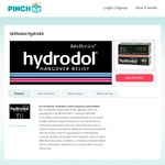 Hydrodol Value Pack of 40 Capsules with Free Shipping for $4.50 @ PINCHme