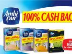 Ambi Pur 100% Cash Back - Buy Ambi Pur Electrical Fragrance & Get Full Cost Back + Postage Cost