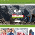 Kathmandu: up to 50% off Winter Sale. (Now Available to non-members)