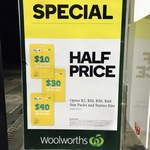 Optus Prepaid Starter Packs $2/ $10/ $30/ $40 for Half Price @ Woolworths Petrol Stores