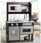 KidKraft Espresso Toddler Kitchen $127 Delivered @ Harvey Norman