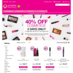 40% off Cosmetics at Priceline (16-17 August)