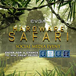 Win Motherboards, Cases, PSU's, Coolers and Graphics Cards from EVGA Hardware Safari Event
