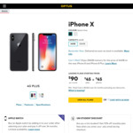 iPhone X 256GB - $149/Month - 200GB Data / Unlimited Calls & Texts (24 Month Contract) ($134.10/Month for Students) @ Optus