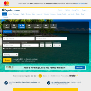 12% off Expedia When Paying with Mastercard - OzBargain