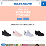 Skechers: Click Frenzy: 20% off Storewide (Online Only)