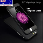 360 Hybrid Full Body Shockproof Case Cover Tempered Glass iPhone 6 6s 7 8 Plus $3.95 Free Shipping @ Luminant Connections eBay