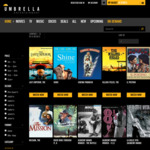 50% off All Academy Award Winning Classic Films on Umbrella Entertainment on Demand