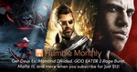 Humble Monthly Bundle (April 2018) Includes: Deus Ex: Mankind Divided, God Eater 2: Rage Burst, Mafia III USD $12 (AUD $16)