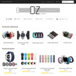 25% off Storewide + Free Express Shipping over $20 @ OzStraps