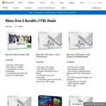 Microsoft Xbox One S 1TB Console Bundle Deals $349 Delivered @ Microsoft