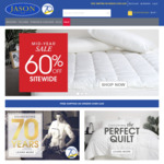 Jason Bedding 60% off Site Wide Sale