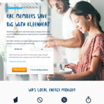 [WA] 38% off Natural Gas Usage for RAC Members for 12 Months @ Kleenheat
