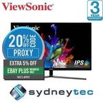 "ViewSonic VX3211-4K 31.5"" 4K UHD HDR FreeSync Monitor $494.17 (eBay Plus Required) Delivered @ Sydneytec eBay"