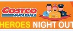 Costco Wholesale Heroes Night out 16 August - Free for Police, Fire, Ambos, Corrective Services and SES Employees and Volunteers