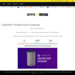 Win an Amazon Echo from CyberVein