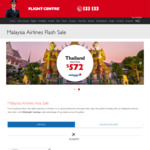 Melbourne and Other Cities to Tokyo with Malaysia Airlines (Travel from February to March 2019) from $599 via Flight Centre