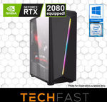 Intel i7 8700 RTX 2080 8GB 120GB SSD 16GB RAM 550W Gaming Desktop Computer PC $1899 Delivered @ eBay Techfast