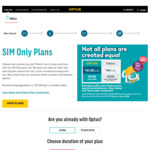 $41.25/mth 12 Month SIM Only Plan Unlimited Calls + Text + 80GB Data + Optus Sport + Music/Video Streaming Free @ Optus
