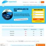 Wipertech Aeroflex Wiper Blades for Mazda Cars (Front Pair) $25 Delivered - Wipertech.com.au