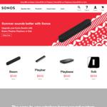 $50 off Beam, $150 off Playbar, Playbase, Sub @ Sonos