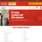 20% off Online Hire at Kennards Hire