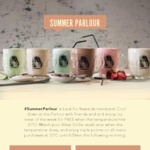 [VIC] Free Cold Beverage or Treat When The Temperature Reaches 30ºC @ The Summer Parlour app (Pancake Parlour)