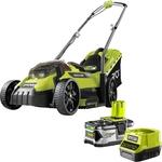 Ryobi 18V ONE+ 4.0ah 33cm Lawn Mower Kit $299 @ Bunnings