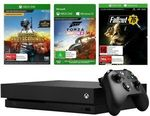 Xbox One X 1TB Console + Fallout 76 Token + Forza Horizon 4 Token + PUBG Token Bundle $494.10 + Delivery @ Big W eBay