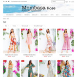 50% off Sale Items @ Mombasa Rose Fashion