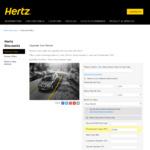 Hertz - Free Rental Upgrade