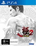 [PS4] Yakuza Kiwami 2 Steelbook Edition $36 (Was $79.36) @ EB Games