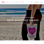 Keto Smoothie Powder $27 (Was $24) + Shipping (Free over $100) @ Keto Connection