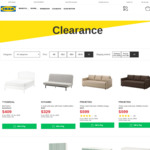 IKEA Clearance Sale: MALM Desk with Pull Out Panel $149 (Was $199),  FRIHETEN Three Seater Sofa Bed $599 (Was $699)