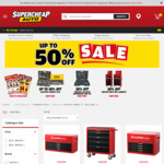 50% off Toolpro Edge Series Tool Chests & Cabinets (e.g. 4-Drawer 28 Inch $184.50, Was $369) @ Supercheap Auto