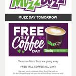 "[WA] Free ""Tall"" Coffee @ Muzz Buzz All Day Tuesday 1st October"