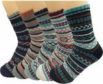 5 Pack Men's Wool Knitted Warm Cashmere Socks - $11.54 + Delivery (Free with Prime) @ Amazon US via AU