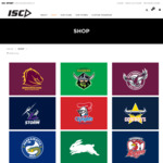 Sydney Swans / Maroons Rugby etc. Rugby Guenseys $35, Tees / Polos $20, Training Shorts $20 + $10 Shipping @ ISC