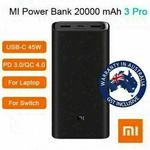 Xiaomi Power Bank 3 Pro 20000mAh $47.96 | ZMI QB815 15000mAh $49.96 + Delivery ($0 with eBay Plus) @ Shopping Square eBay