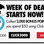 Collect 2,000 Bonus Flybuys Points When You Spend $50 on Click & Collect @ First Choice Liquor