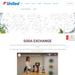 Free SodaKING Syrup with $18.95 SodaKING/SodaStream 60L Cylinder Exchange (Excl. SA) @ United Petroleum
