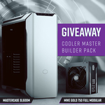 Win a Cooler Master Chassis & PSU Bundle from PC Case Gear