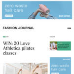 WIN a pass for 20 Love Athletica pilates classes [Windsor studio in VIC]