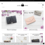 Luxe.It.Fwd - $75 off Authentic Pre-Owned Luxury Handbags, Shoes and Accessories Sitewide (Louis Vuitton, Chanel, Gucci & More)