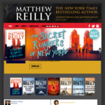 [eBook] Free - Matthew Reilly - Roger Ascham & The Dead Queen's Command @ Google Play, Apple Book Store, Kobo, Direct Download
