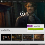 [PC] DRM-free - Lamplight City - $11.79 (Normal price: $17.50) - GOG